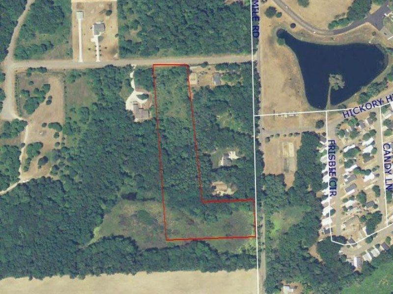 Buildable Wooded Acres : East Leroy : Calhoun County : Michigan