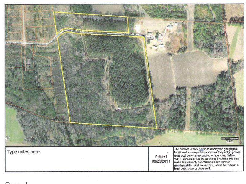 43 Ac Miracle Mile Rd : Hemingway : Williamsburg County : South Carolina