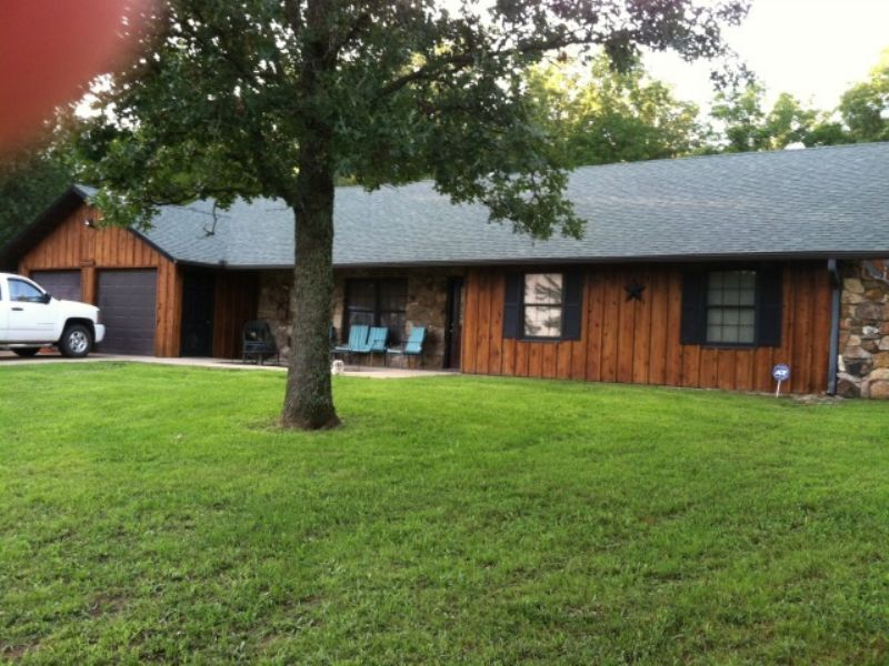 Amazing 11 Acre Home : Cabool : Texas County : Missouri