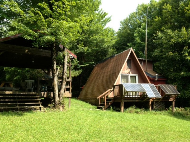 Southern Tier Hunting Land & Cabin : Lincklaen : Chenango County : New York