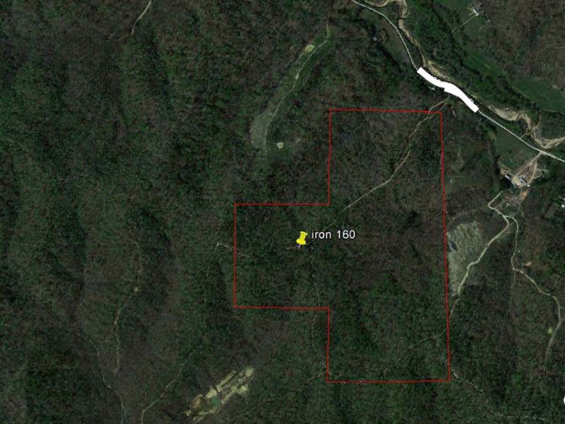 160 Acres With Home : Arcadia : Iron County : Missouri