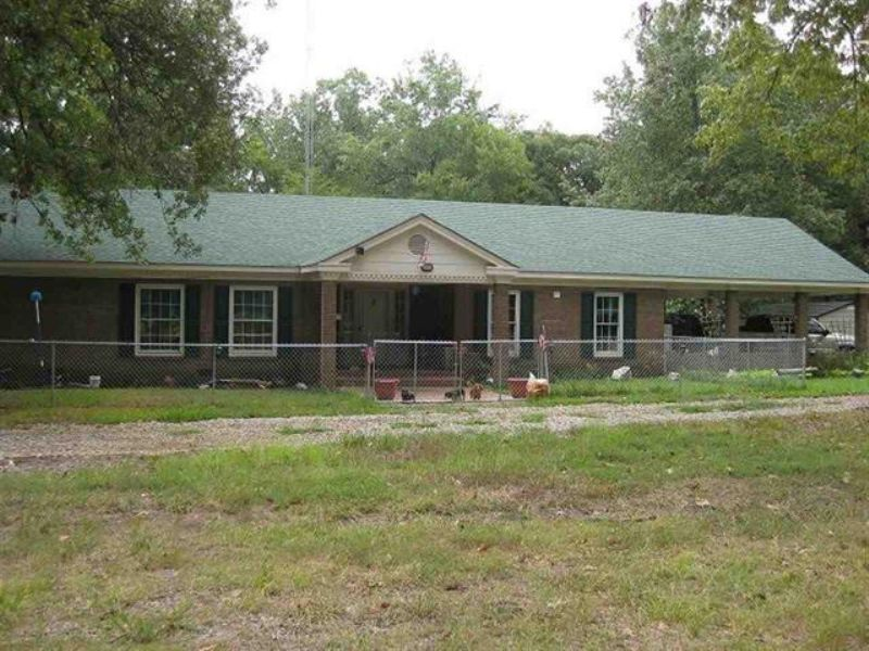 Home On 20+ Acres (#27344) : Clarksville : Red River County : Texas