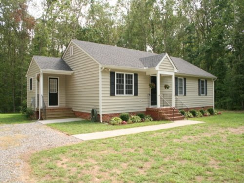 1168 Epworth Rd Home On 6 Ac : Aylett : King William County : Virginia