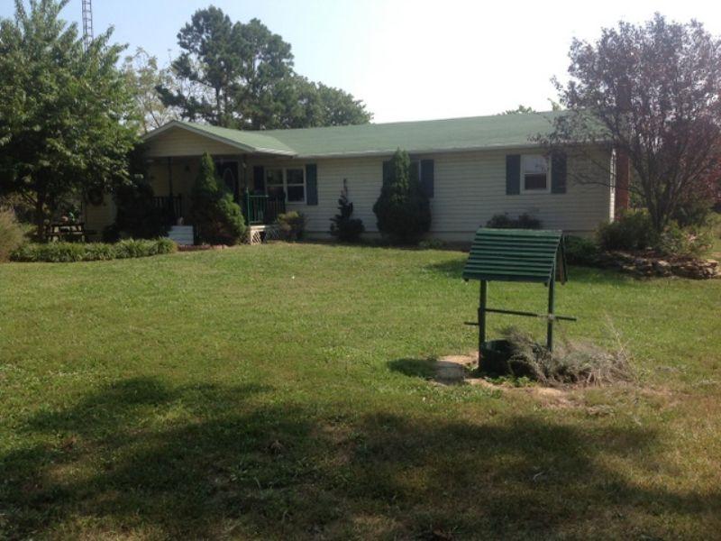 Swell 4 Acre Home : Pomona : Howell County : Missouri
