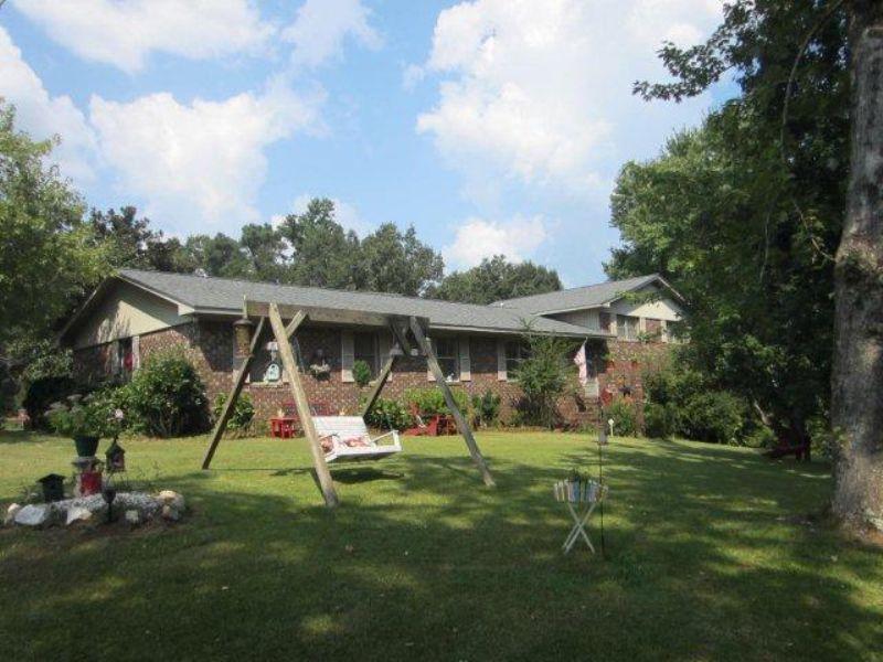 Nice 4br/2ba Brick Home : Lineville : Clay County : Alabama
