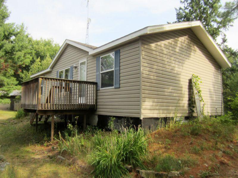 Home On 2± Acres Near Lake Chetek : Chetek : Barron County : Wisconsin