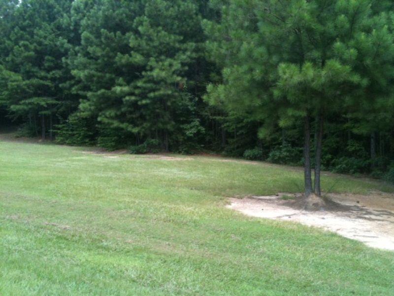 Pineview Subdivision Homesite : Green Pond : Bibb County : Alabama