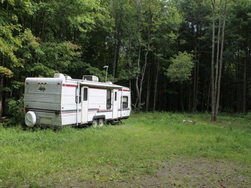 Camper Salmon River Wooded Land : Orwell : Oswego County : New York