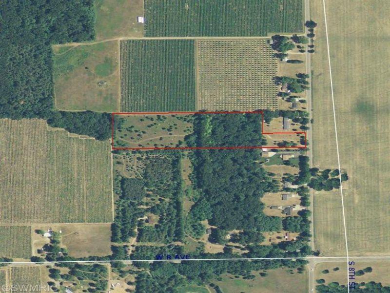 Secluded Home Site : Kalamazoo : Kalamazoo County : Michigan