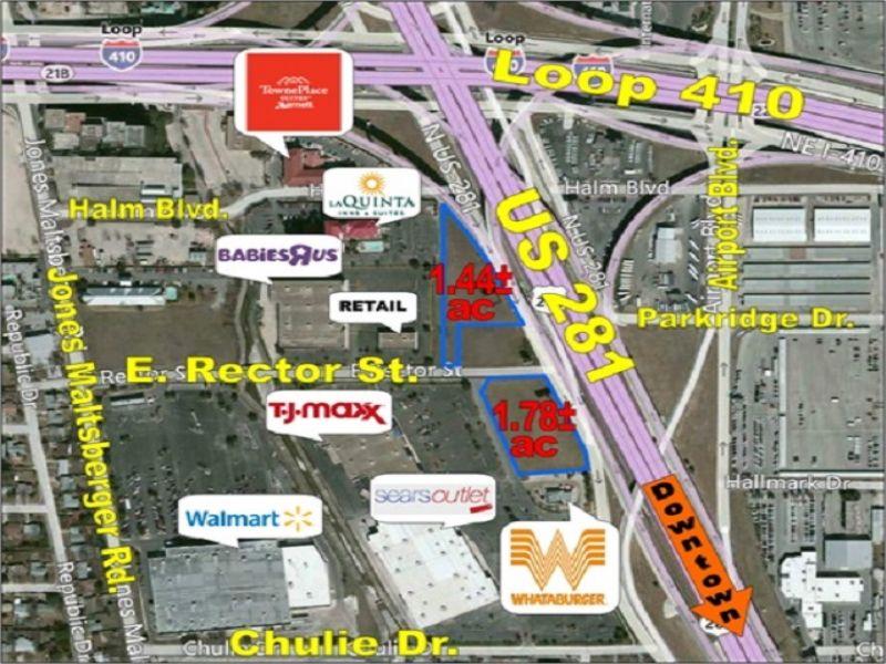 Two Prime Retail Pad Sites : San Antonio : Bexar County : Texas