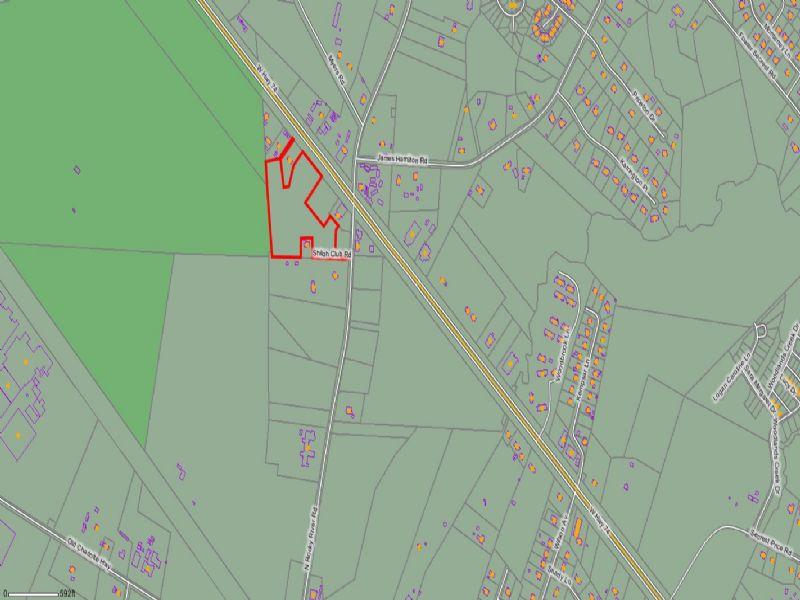 13.89 Acres Hwy 74 : Monroe : Union County : North Carolina