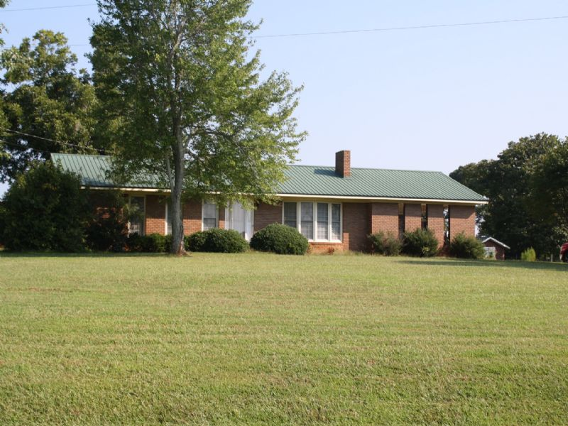 Small Farm With Ranch Home For Sale : Roopville : Heard County : Georgia