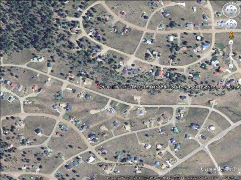 Build Here Upcoming Area : Pagosa Springs : Archuleta County : Colorado