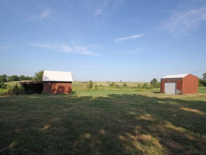 Home & 80±ac Selling In 8 Tracts : Nowata : Nowata County : Oklahoma