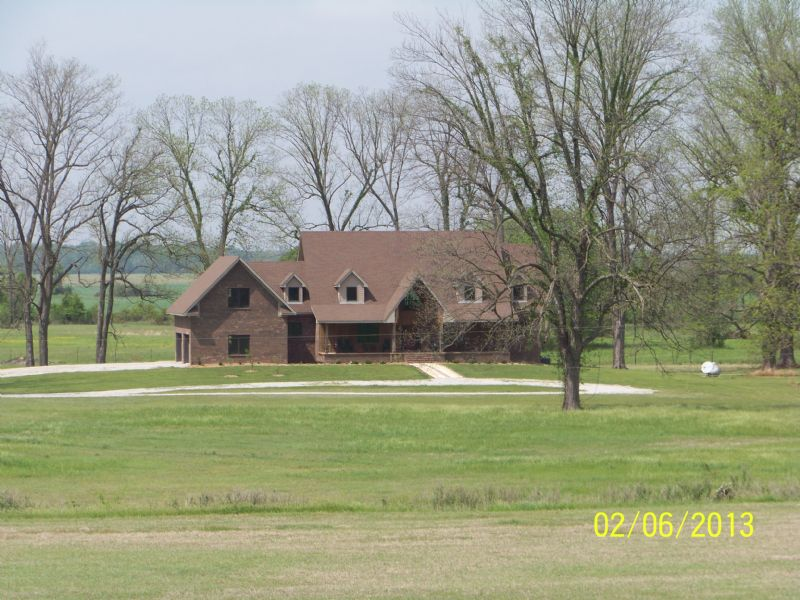 55 Acres With Custom-built Home : Eudora : Chicot County : Arkansas