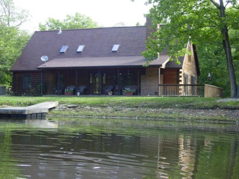 Secluded 41± Acre Country Getaway : Oskaloosa : Jefferson County : Kansas