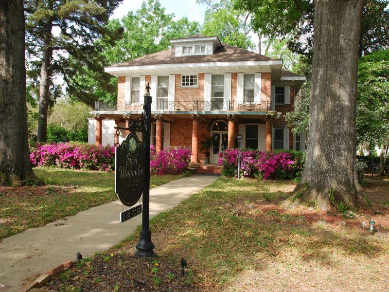 Historical Steel Magnolia House : Natchitoches : Natchitoches Parish : Louisiana
