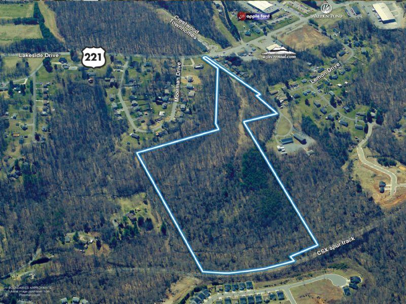 Us-221 Preplanned Development Land : Lynchburg : City of Lynchburg County : Virginia