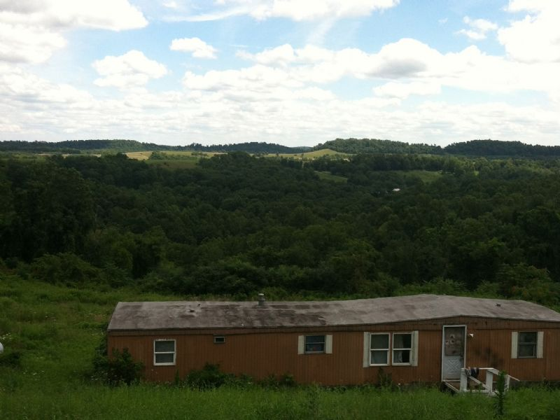6+ Acres With Mobile $32,900 : Salesvill : Guernsey County : Ohio