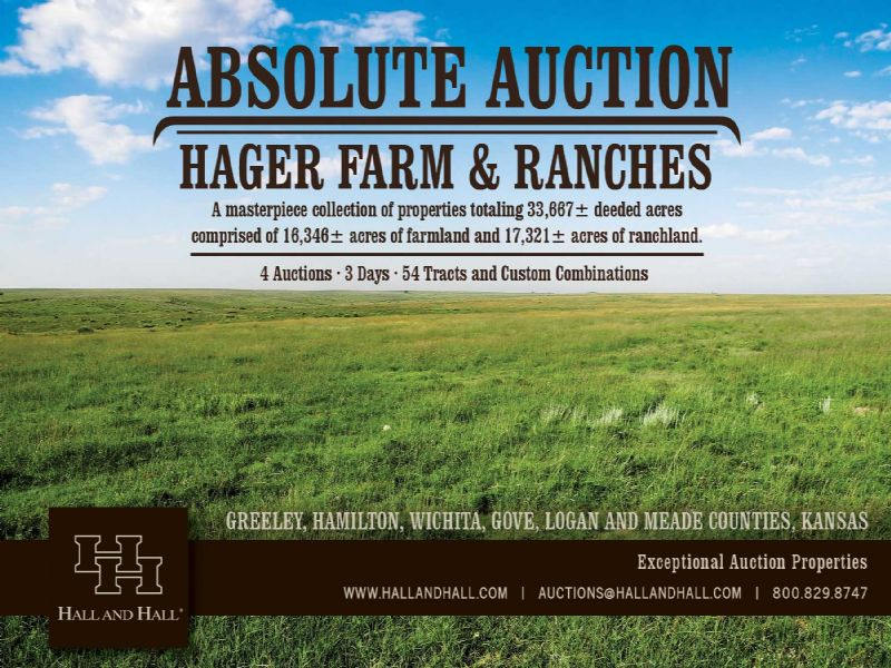Absolute Auction 33667 Acres : Leoti : Wichita County : Kansas