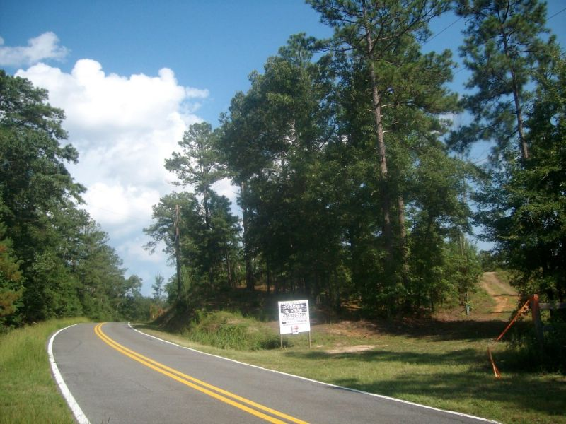 5 Ac Open & Wooded With View : Macon : Bibb County : Georgia