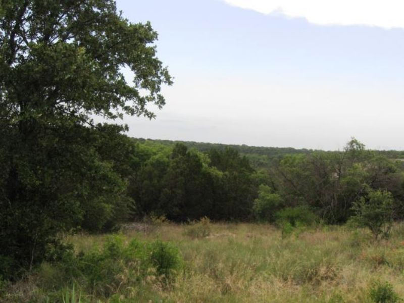 Overlooking The Recreational Lake : Bluff Dale : Erath County : Texas