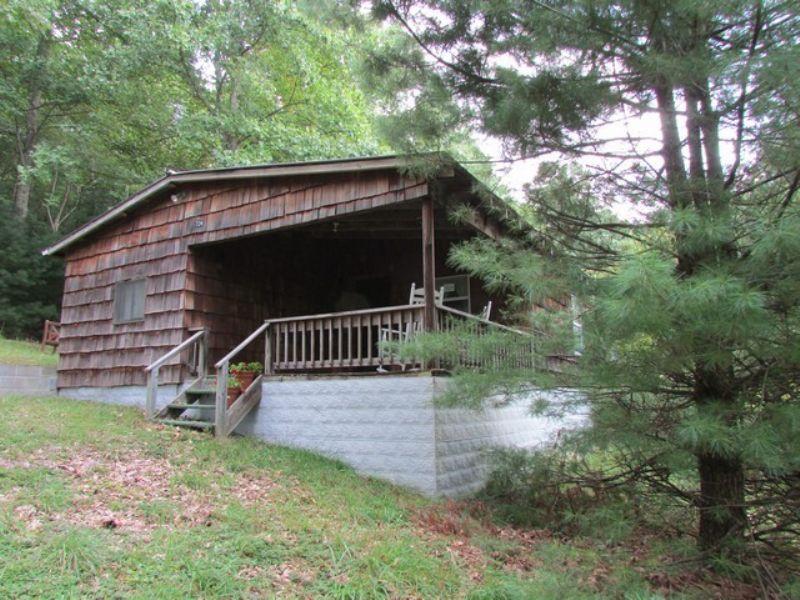 Hunting Cabin Near Jnf : Troutdale : Grayson County : Virginia