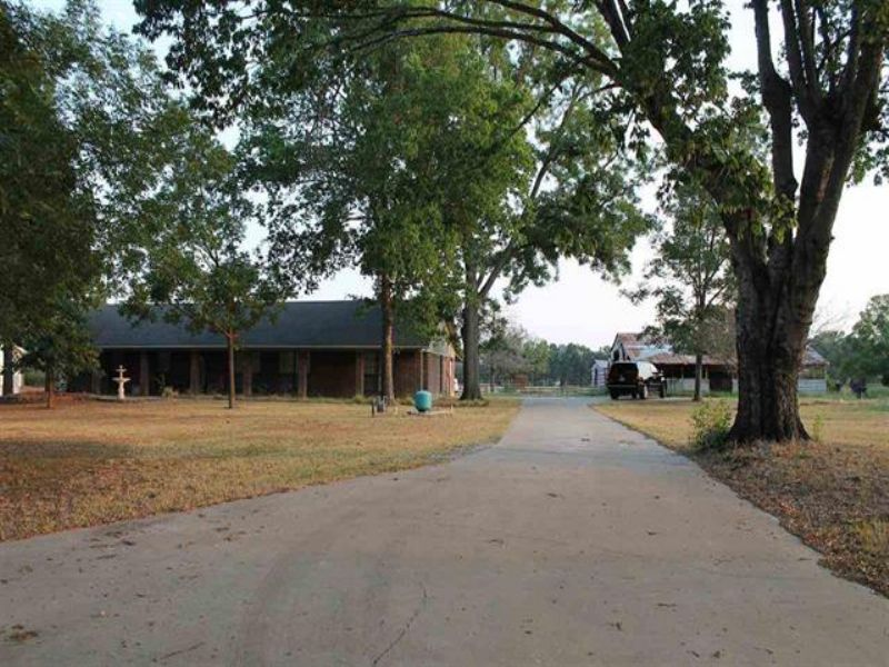 Home On 5 Acres (#27449) : Bogata : Red River County : Texas