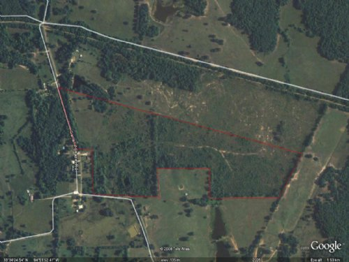 66 Acres / 30338 : Annona : Red River County : Texas