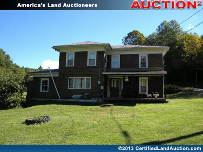 Real Estate Auction For Land & Home : Wellsboro : Tioga County : Pennsylvania