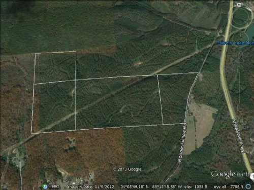 Recreation Tract Priced To Sell : Lindale : Floyd County : Georgia
