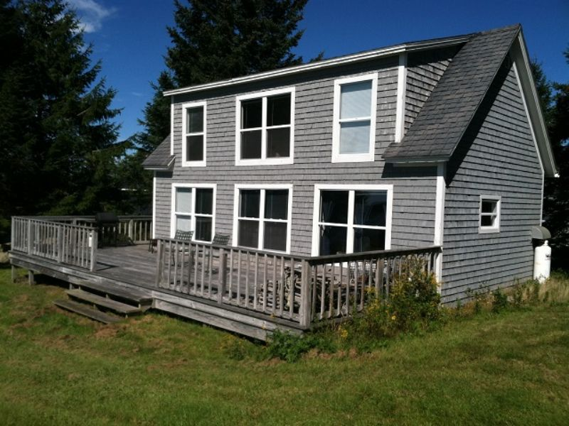 oceanfront cottage in downeast me land for sale