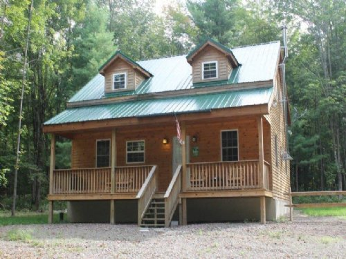 Cabin Home With Furnishings : Florence : Oneida County : New York