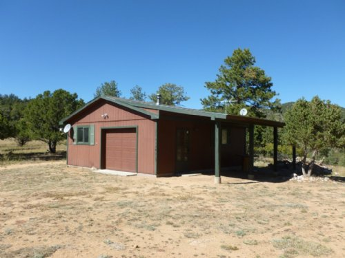 Bank Owned Hunting Cabin : Cotopaxi : Fremont County : Colorado