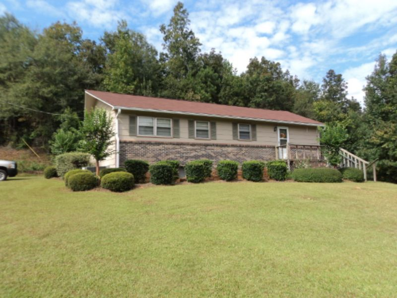14 Acre Farm & Home : Ashland : Clay County : Alabama