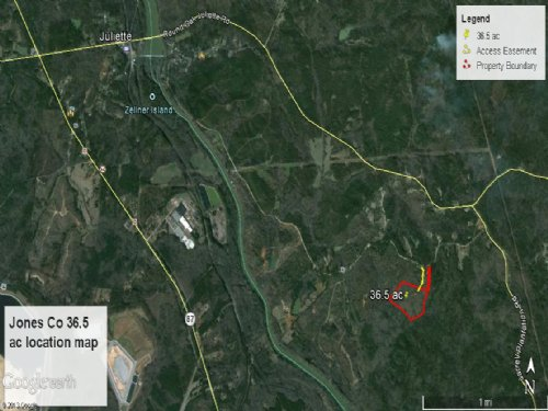 Affordable Small Tract : Juliette : Jones County : Georgia