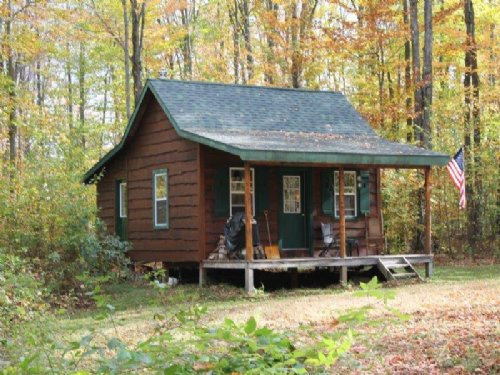 Cabin Access To State Land Trails : Croghan : Lewis County : New York
