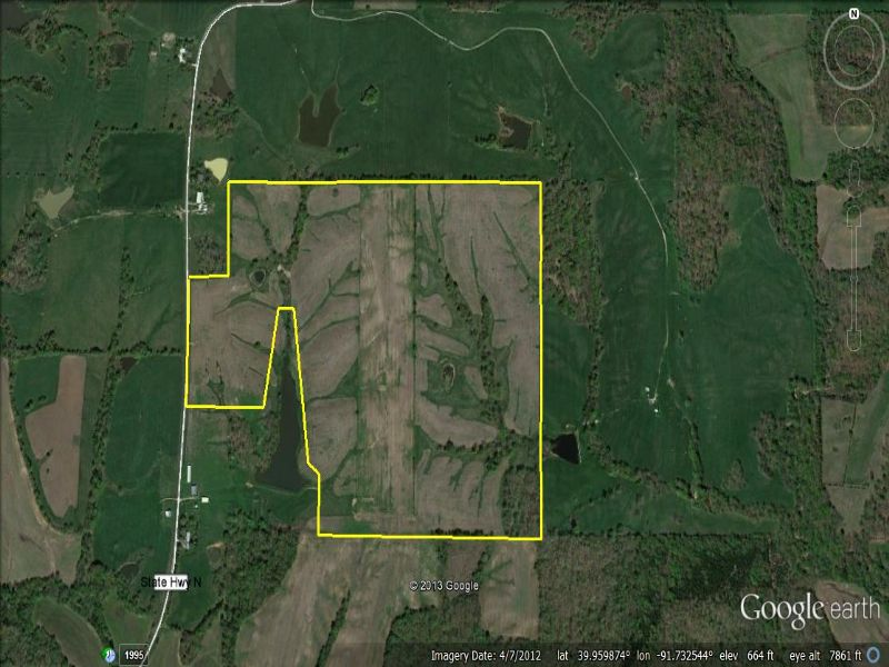 162.9 Acres With Income & Hunting : Ewing : Lewis County : Missouri
