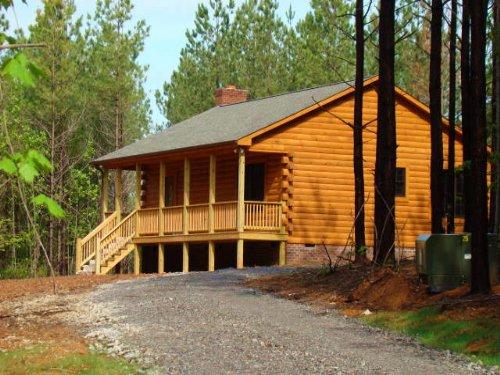 Hill-top Cabin : Wingina : Buckingham County : Virginia