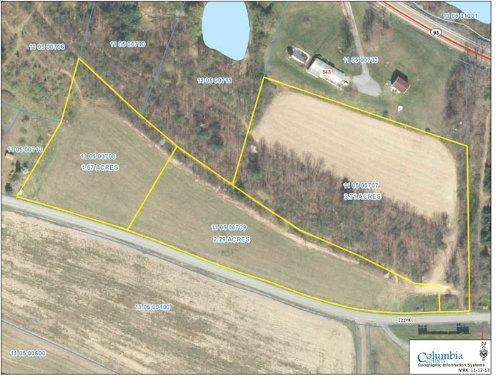 7.6 Acre Building Lot : Berwick : Columbia County : Pennsylvania