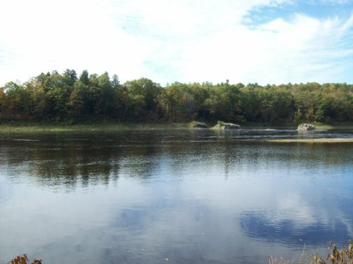 Kennebec River Parcel : Vassalboro : Kennebec County : Maine