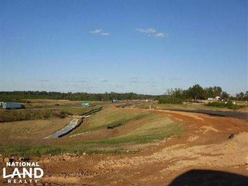 I-20 Commercial Land : Meridian : Lauderdale County : Mississippi