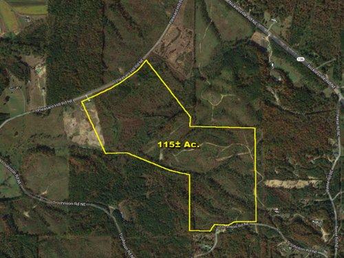 Rolling Land. Mountain Views. : Ranger : Gordon County : Georgia