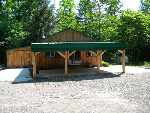 Cabin Woods 15 Acres Private : Solon : Cortland County : New York