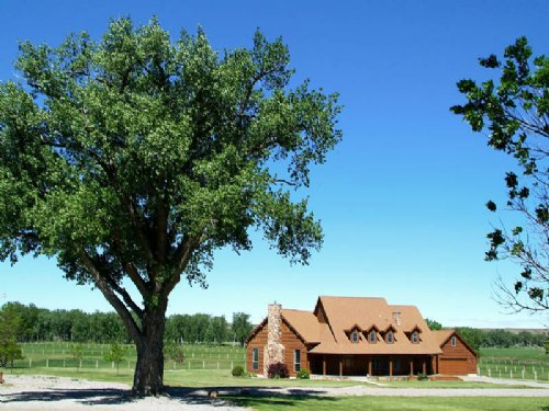 Cottonwood Equestrian Center : Silesia : Carbon County : Montana