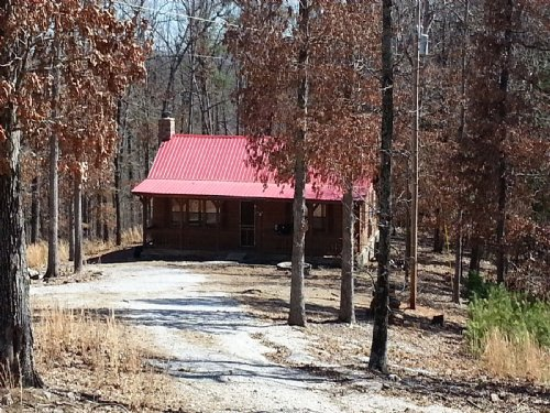 Cabin, 10+/- Acres, National Forest : Mountain View : Stone County : Arkansas