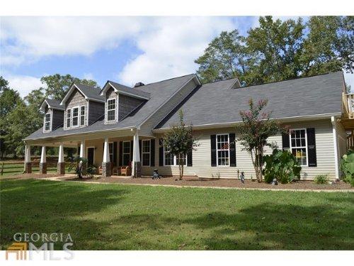 Serene 4/3 Cape Cod Home On 10 Acre : Social Circle : Walton County : Georgia