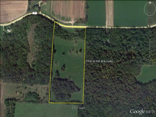 Outstanding Views On 20 Acre Parcel : Mount Pleasant : Green County : Wisconsin