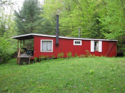 Cabin 19 Acres Near State Forest : Burdett : Schuyler County : New York