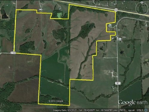 417 Acres Hwy 24 Randolph County : Huntsville : Randolph County : Missouri